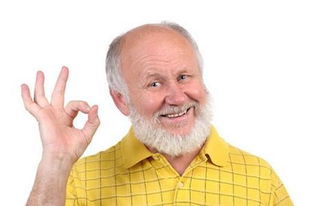 счастливый дед